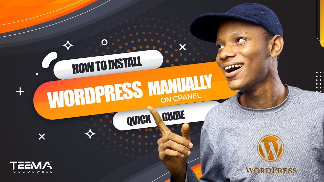 How to install wordpress manually in cPanel