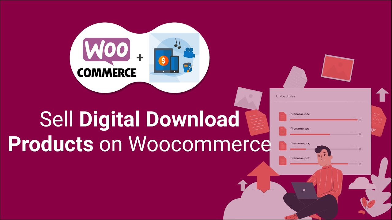 Woocommerce Digital Download Products | How to Sell Digital Products on WordPress Tutorial