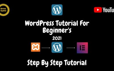 WordPress For Beginners – WordPress tutorial for beginners 2021 | How to Install WordPress | Step by Step | Elementor tutorial