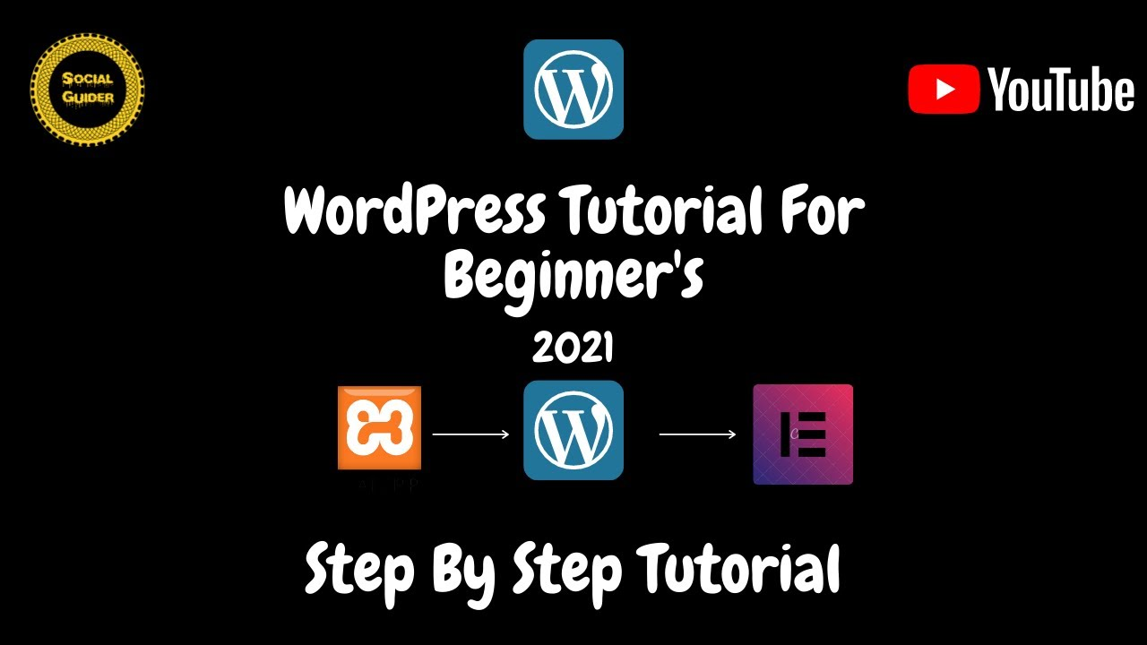 WordPress tutorial for beginners 2021 | How to Install WordPress | Step by Step | Elementor tutorial