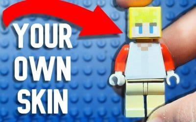 Do It Yourself – Tutorials – How to make a CUSTOM Lego Minecraft MINIFIGURE