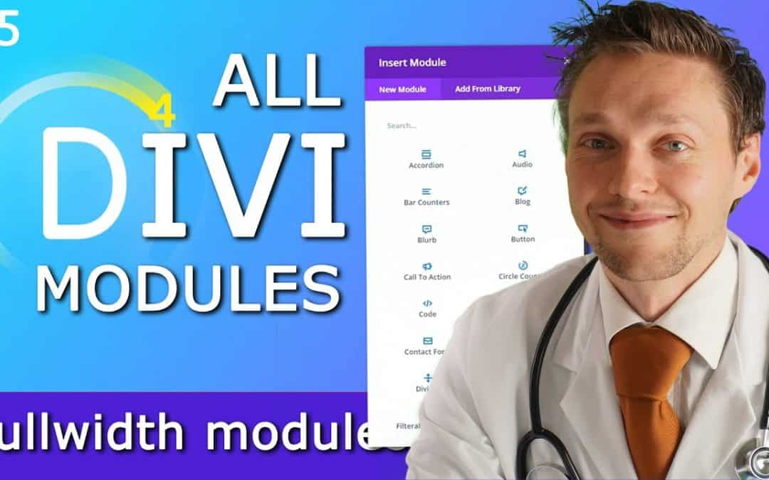 All Divi Modules Overview incl. CSS Tricks – Part 5