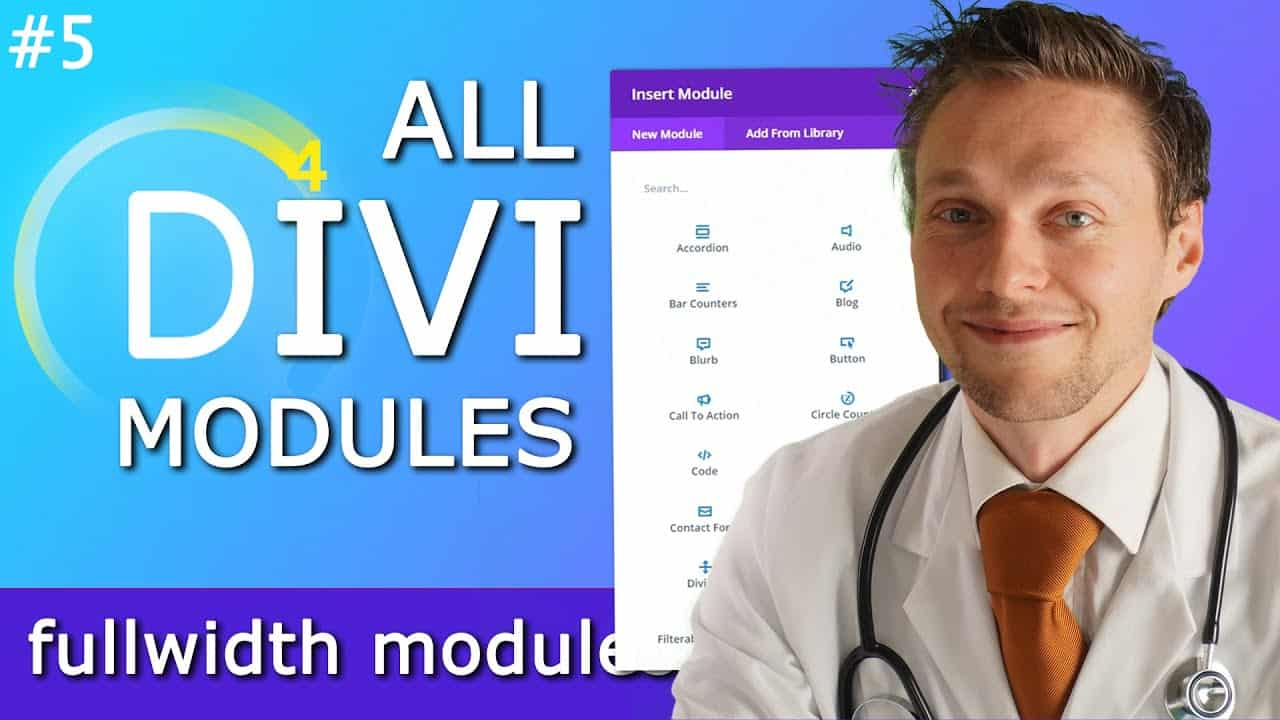 All Divi Modules Overview incl. CSS Tricks - Part 5