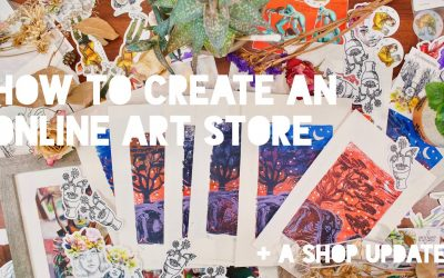 Do It Yourself – Tutorials – How To Create an Online Art Store | Artist Website Tutorial + SHOP UPDATE