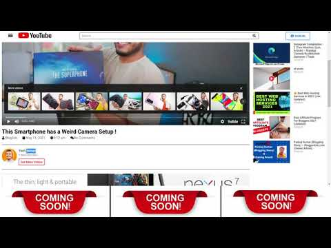 How To Make A Website Like YouTube | How To Make Your Own Video Streaming Website Like YouTube Free