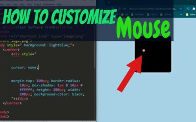 quick tips for Customize muse with CSS | custom cursor for a website