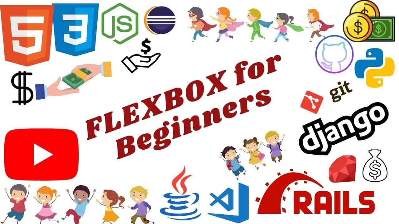 CSS FLEXBOX FOR BEGINNERS IN BANGLA  FLEXBOX TUTORIAL FOR BEGINNERS  CSS FLEXBOX