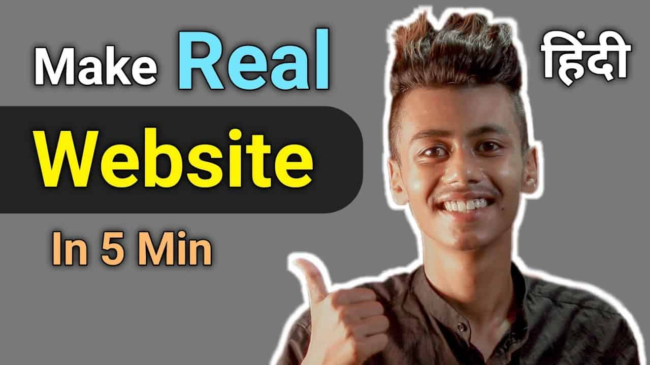 How To Make a Website In 5 Minutes   Easy Tutorial   Deb Tech