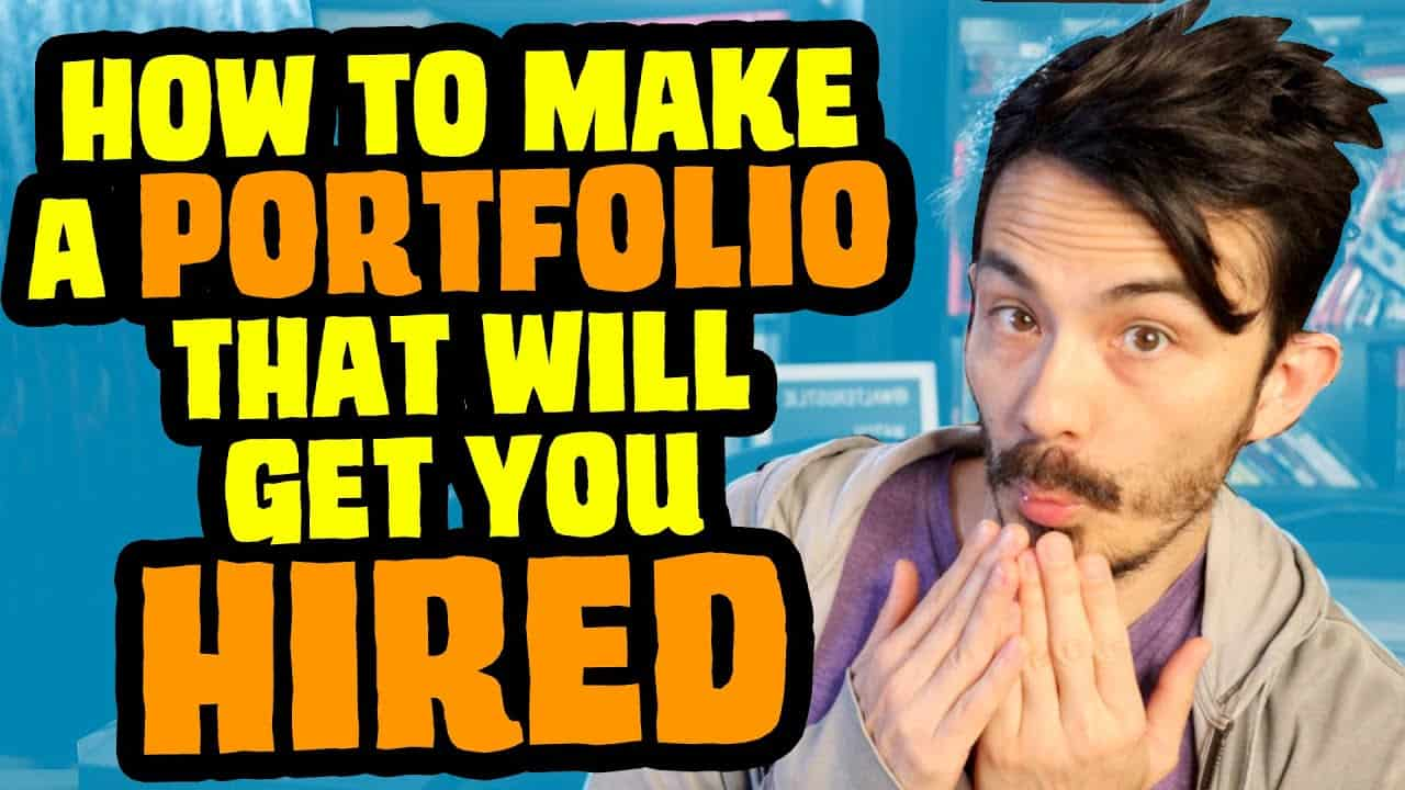 How To Make a Portfolio Website That Will Get You Hired