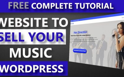 Do It Yourself – Tutorials – How to make a music website with WordPress – How to build a music website to sell music downloads