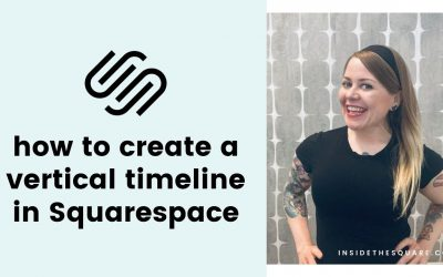 Do It Yourself – Tutorials – How to create a simple vertical timeline in Squarespace // Squarespace CSS Tutorial
