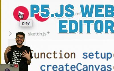 Do It Yourself – Tutorials – 1.2: p5.js Web Editor – p5.js Tutorial