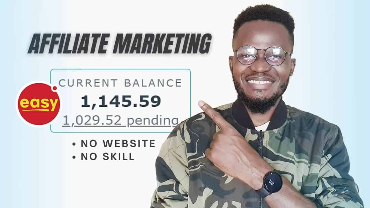 Affiliate Marketing For Beginners: How I Made $1,029.52 Without A Website [Step by Step Tutorial]