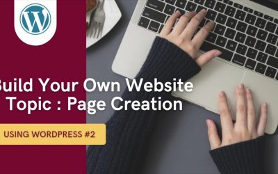 Do It Yourself – Tutorials – Build Your Own Website – Page Creation
