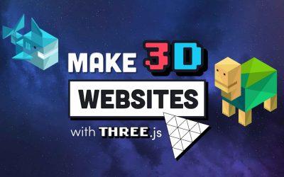 Do It Yourself – Tutorials – Build a Mindblowing 3D Portfolio Website // Three.js Beginner's Tutorial