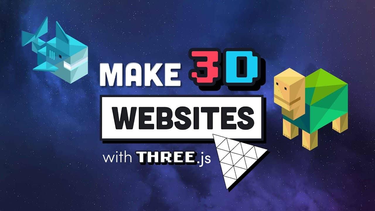Build a Mindblowing 3D Portfolio Website // Three.js Beginner's Tutorial