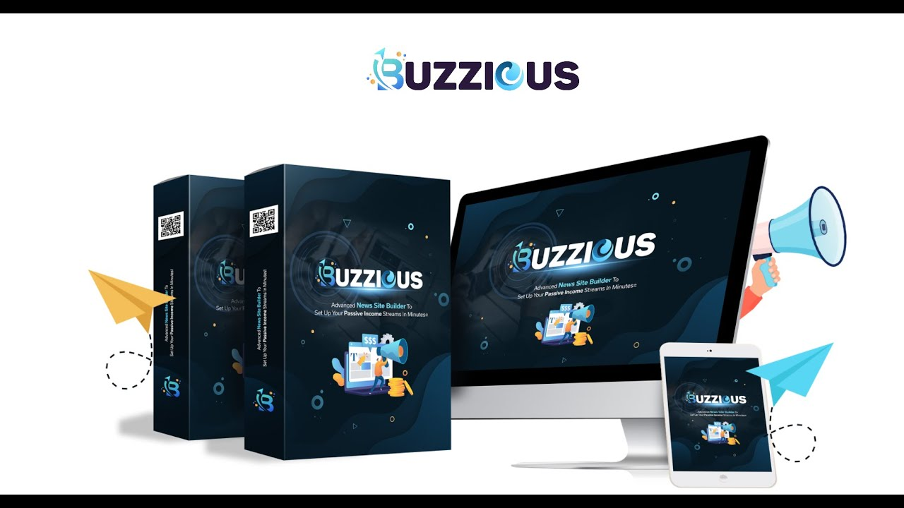 Buzzious Demo Launch Your Own Website NOW