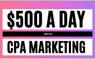 Do It Yourself – Tutorials – CPA Marketing Tutorial: How To Make $500 A Day [The Complete Guide]