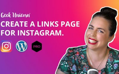 Do It Yourself – Tutorials – Create an Instagram links page on your website