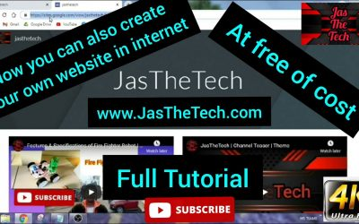 Do It Yourself – Tutorials – Create your own website in internet | At free of cost | Tutorial