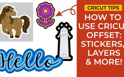 Do It Yourself – Tutorials – Cricut Offset Tutorial   How to Outline in Cricut Design Space