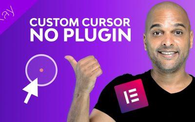 Do It Yourself – Tutorials – Custom Mouse Cursor Website With Elementor Pro (NO PLUGIN)