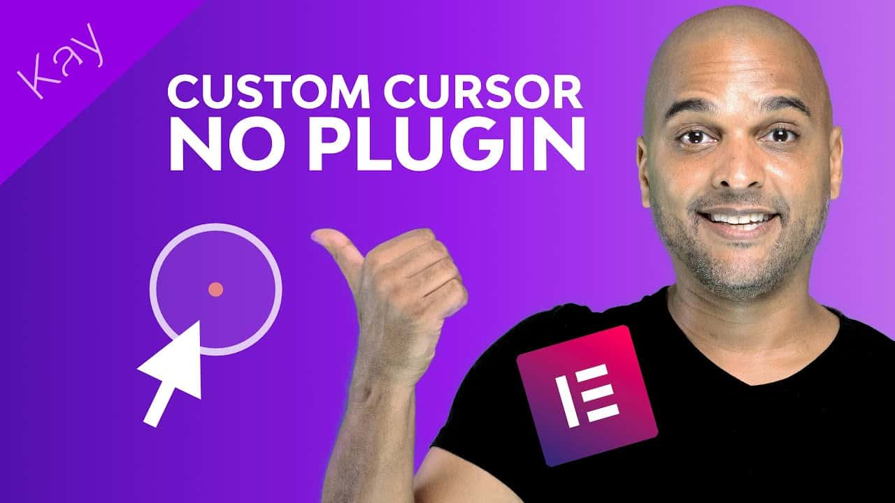 Custom Mouse Cursor Website With Elementor Pro (NO PLUGIN)
