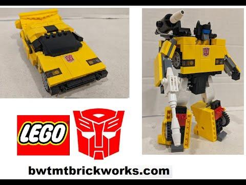 G1 Tiger Track a Lego Transformer by BWTMT Brickworks