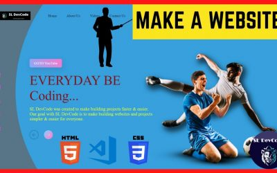 Do It Yourself – Tutorials – HTML Tutorials & Projects 02 – How to Create a Website Using HTML & CSS Step by Step   Source Code