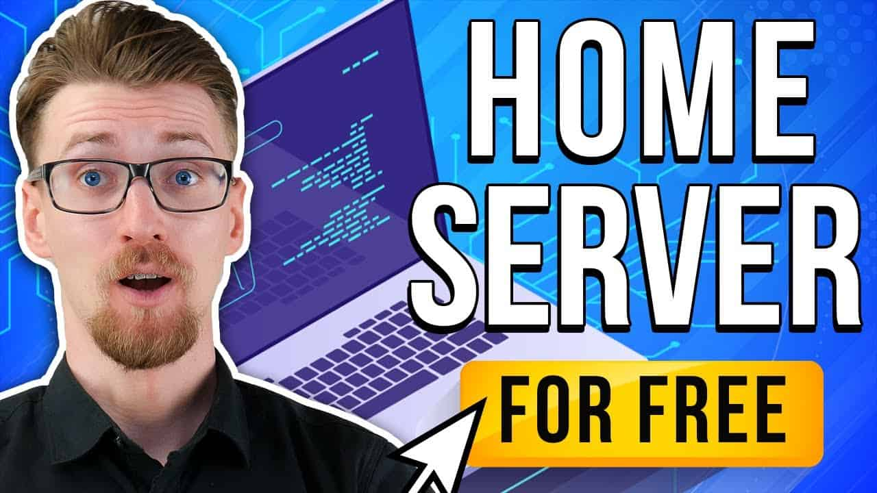 How To Host Your Own Website For FREE - Home Server Tutorial [2021]