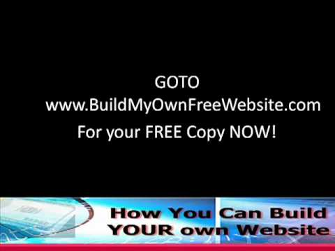How to Build My Own Free Website