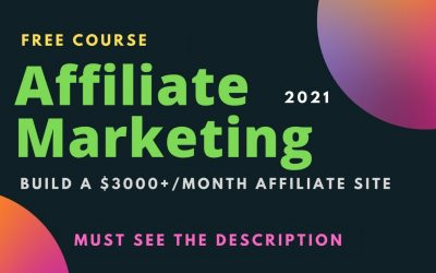 Do It Yourself – Tutorials – How to Build a $3000+/Month Affiliate Marketing Website (Make Passive Income) – 2021