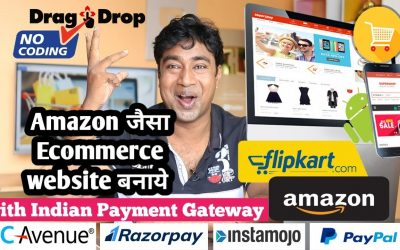 Do It Yourself – Tutorials – How to Create E-Commerce Website Like Amazon & Flipkart With Indian Payment Gateway Integration Demo