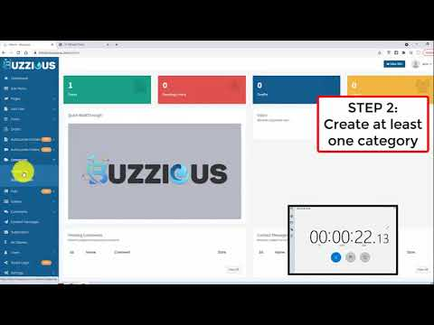 How to build your news website with Buzzious demo (Link in description to buy)