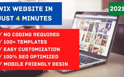 Do It Yourself – Tutorials – How to make WIX WEBSITE in just 4 Minutes for FREE | 2021 | HINDI, URDU