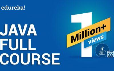Do It Yourself – Tutorials – Java Full Course   Java Tutorial for Beginners   Java Online Training   Edureka