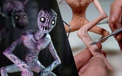 """Do It Yourself – Tutorials – Making Up MY OWN SCP / Creepypasta – Meet """"The Mantis"""" Mutant No. 6"""