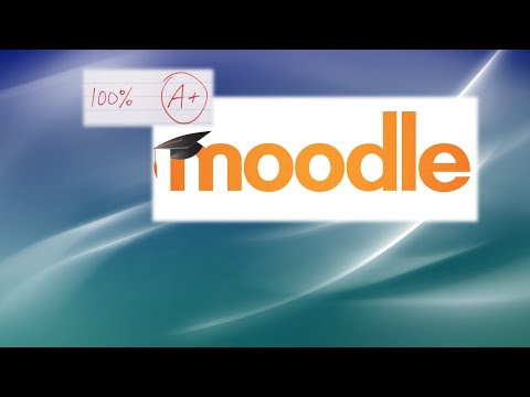 Moodle 3.8 Complete Tutorial for Teachers and Creating Online Courses