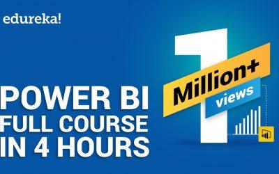 Do It Yourself – Tutorials – Power BI Full Course – Learn Power BI in 4 Hours   Power BI Tutorial for Beginners   Edureka