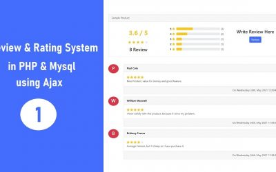 Do It Yourself – Tutorials – Review & Rating System in PHP & Mysql using Ajax – 1
