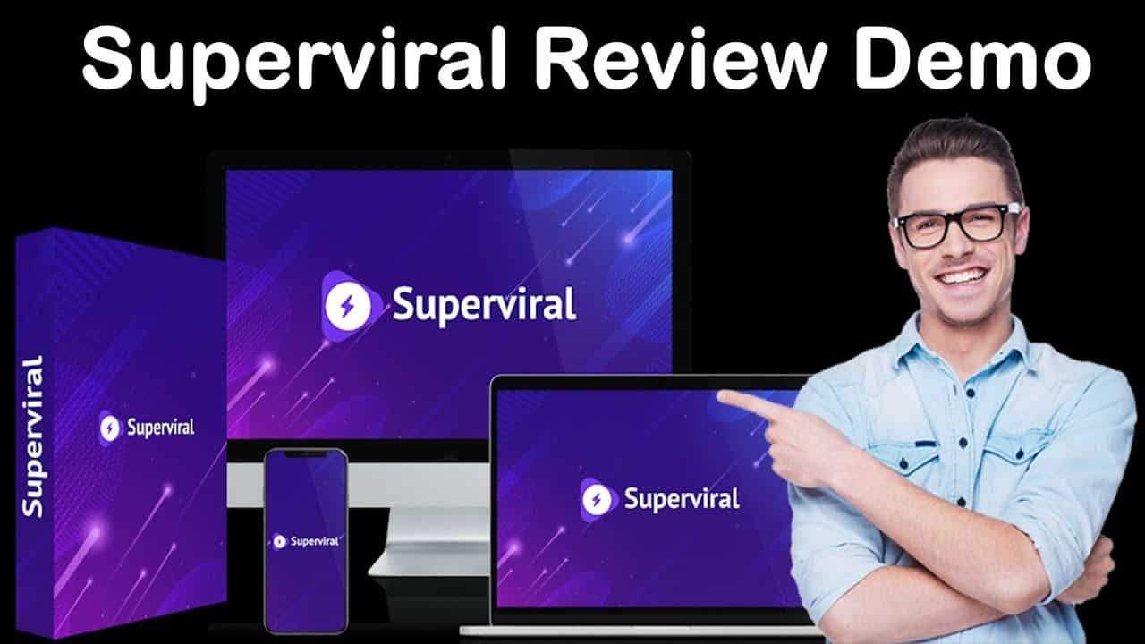 Superviral Review Demo | Create Viral Website
