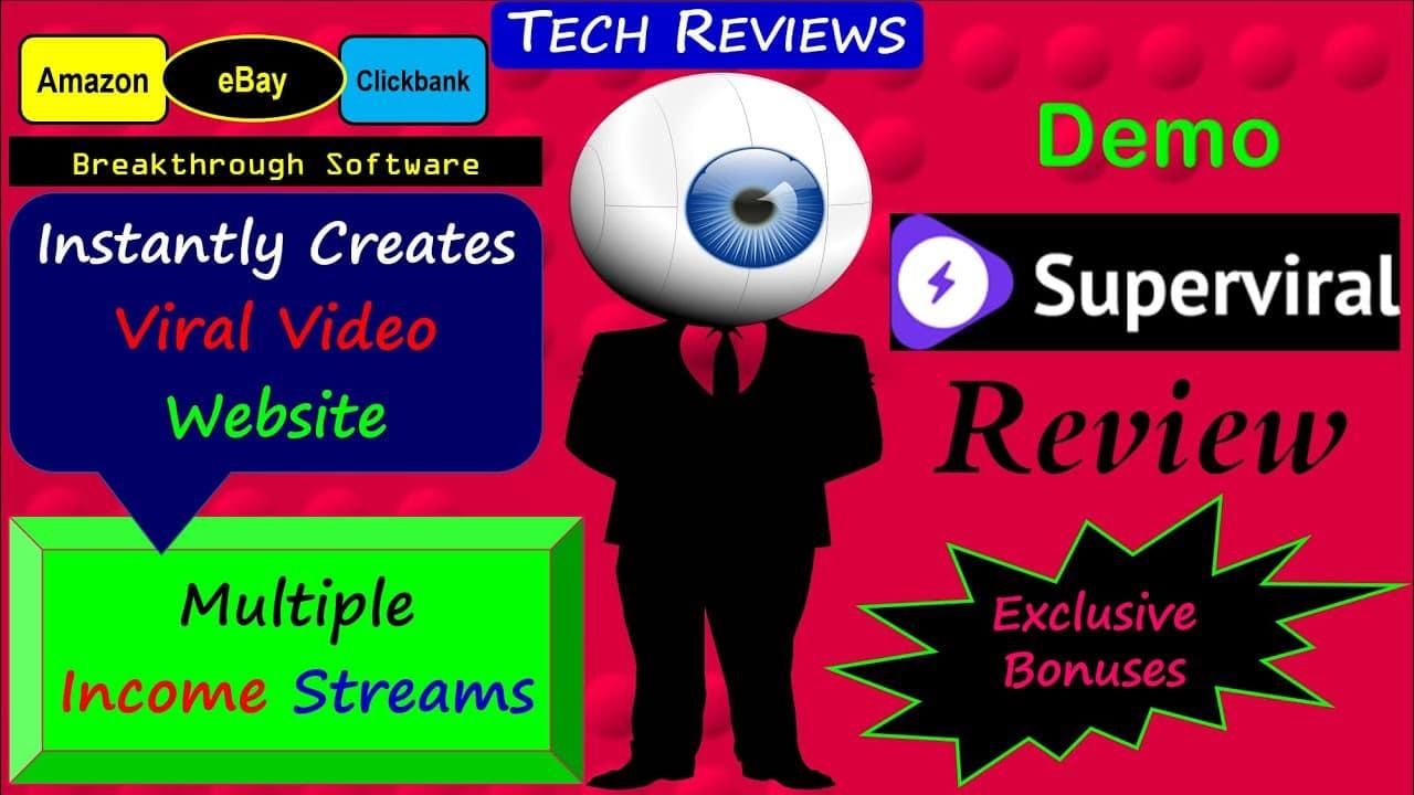 Superviral Review | Superviral Bonuses | Superviral Demo | Instantly Create a Viral Video Website