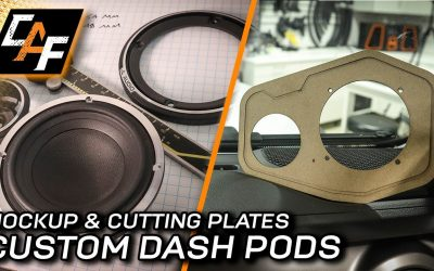 Do It Yourself – Tutorials – This PROBLEM made me START OVER! Custom Dash Pods – Making Acrylic Plates