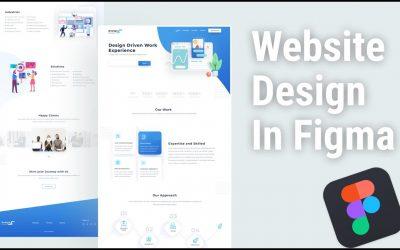 Do It Yourself – Tutorials – Website Landing Page Design In Figma     Figma Tutorial    Website Design