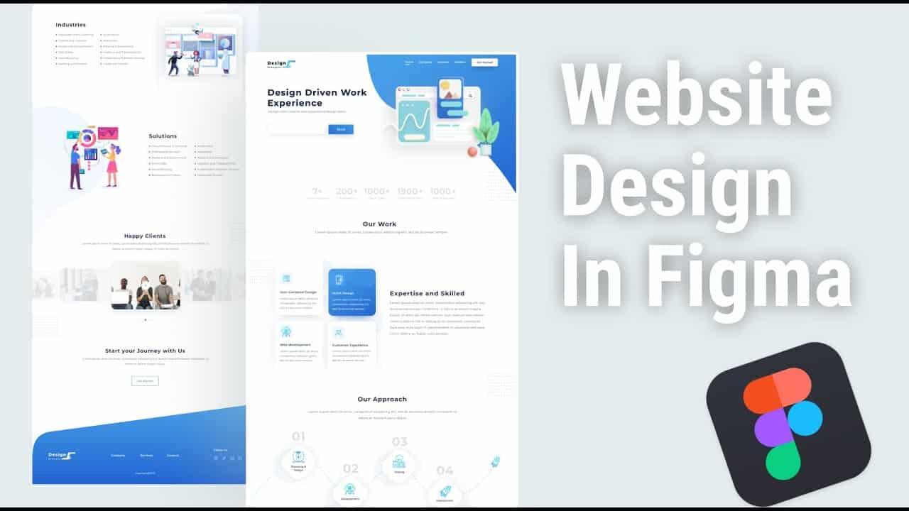 Website Landing Page Design In Figma     Figma Tutorial    Website Design