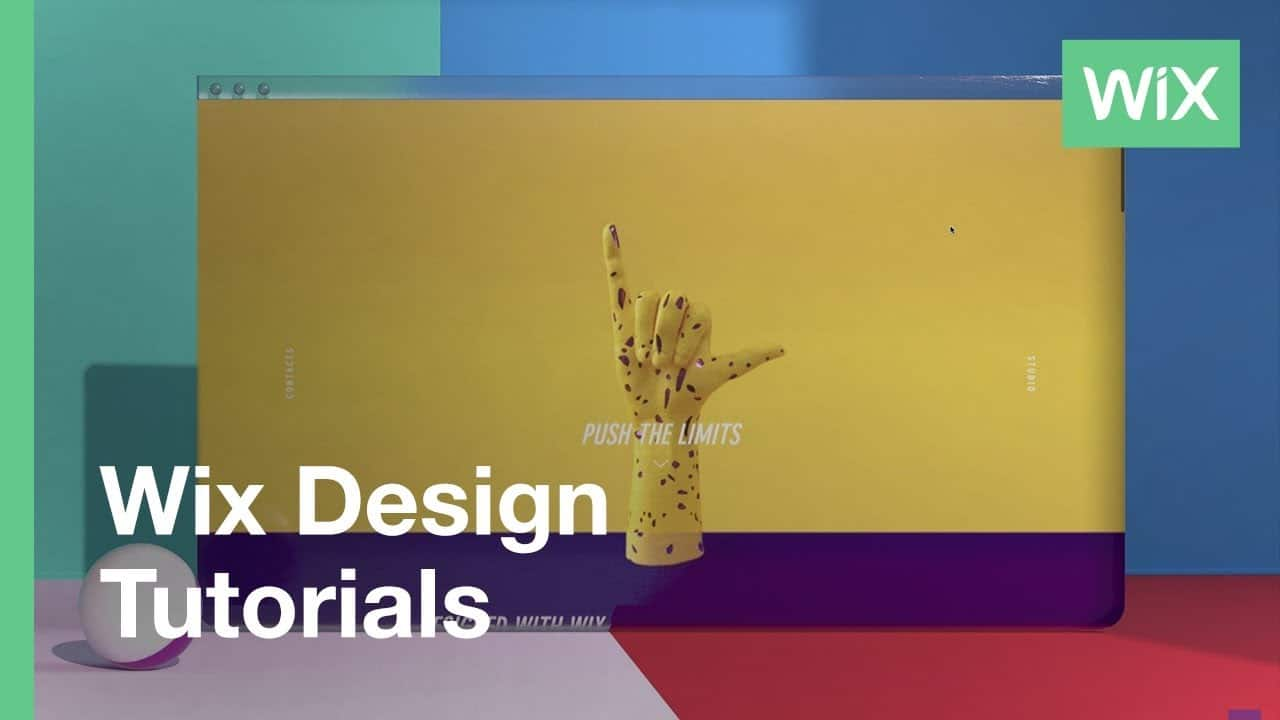 Wix Design Tutorials: Creating a Strip-Based Site with Scrolls Effects and Animation