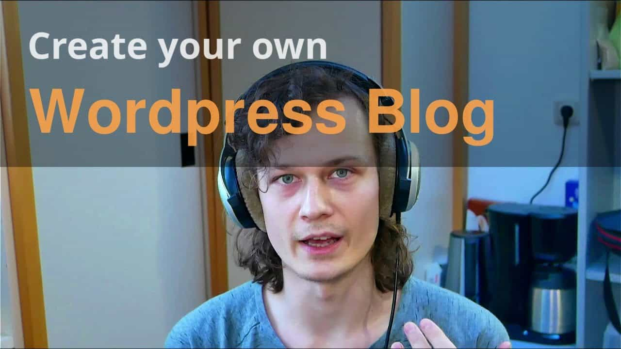 Wordpress Setup Tutorial Build your own Blog