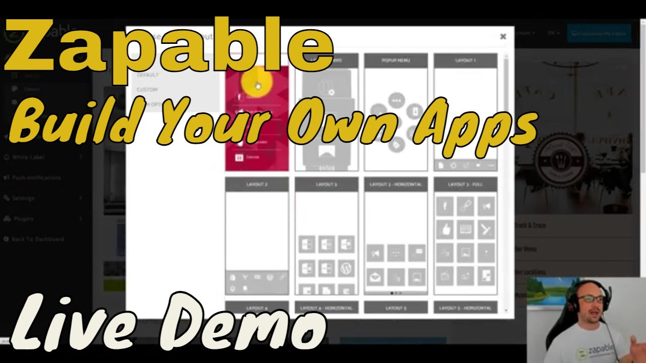 Zapable Builder Make Your Own Business Apps Create ?Build Rapid FIRE Demo 2021