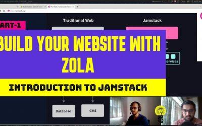 Do It Yourself – Tutorials – Zola tutorial #1: Build modern website using static site generator   Jamstack
