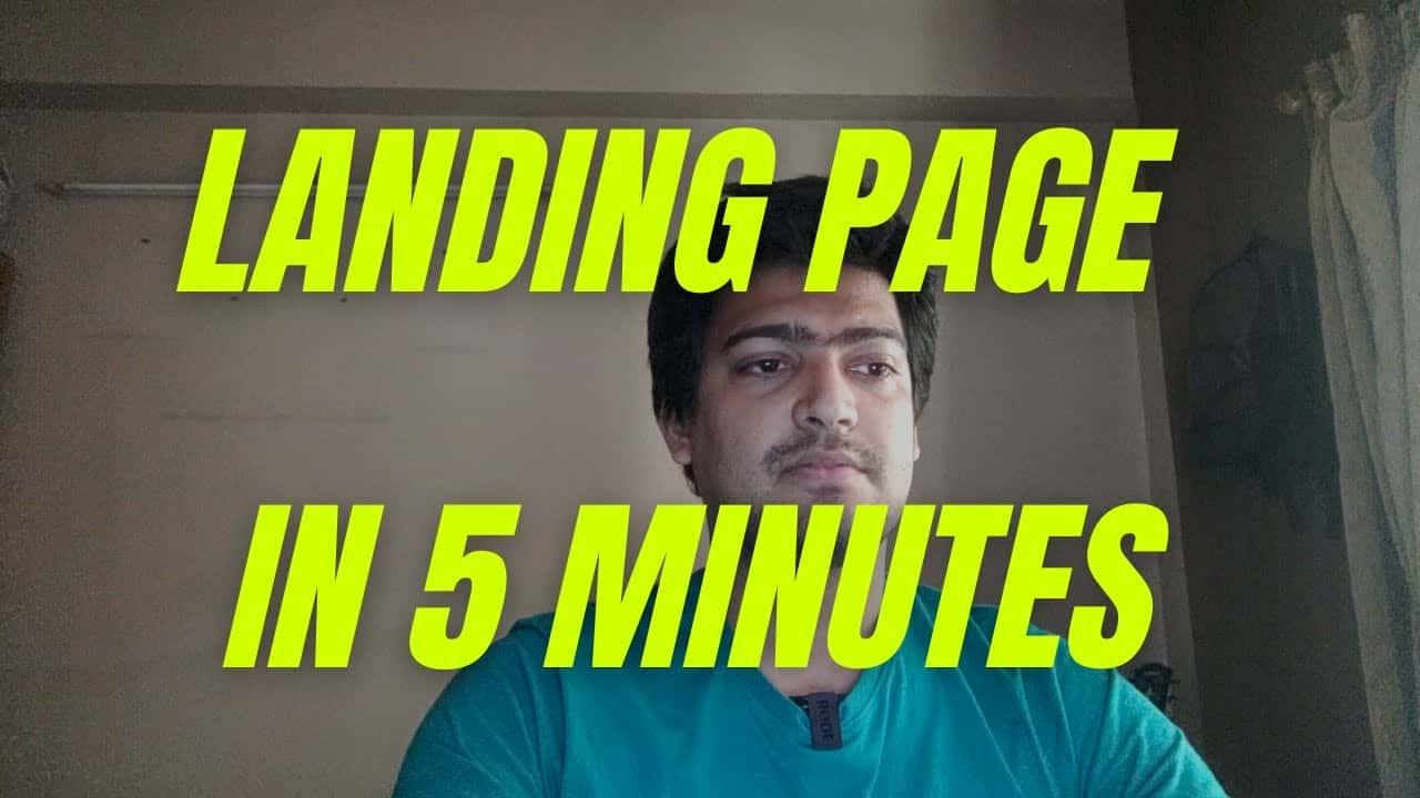 Build Landing Pages In Minutes Using Elementor + Wordpress | Elementor Tutorial